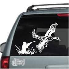 Duck Hunting Decals Stickers Decal Junky