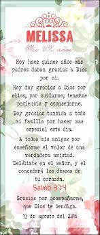 Oracion Vx 15 Anos Misa Flores Rosa Coral Frases