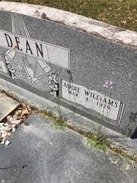 Addie Williams Dean (1929-Unknown) - Find A Grave Memorial