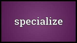 Specialize Meaning - YouTube