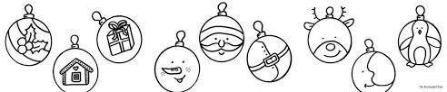 Kleurplaten Kerstballen Crea Met Kids