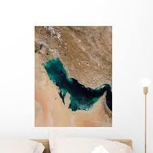 Satellite Persian Gulf Wall Decal Wallmonkeys Com