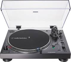 Audio-Technica LP-120XUSB (Black) Manual direct-drive turntable ...