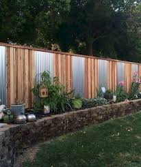 45 Simple And Cheap Privacy Fence Design Ideas Designideas Designhounds Designfurniture Cheap Privacy Fence Backyard Fences Fence Landscaping
