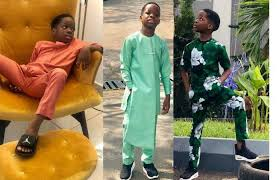 wizkid s 8 year old son starts his own