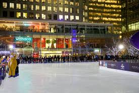 ice rink canary wharf in ociation