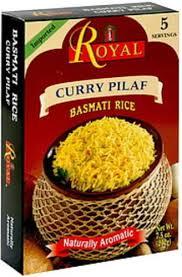 royal curry pilaf basmati rice 7 5 oz