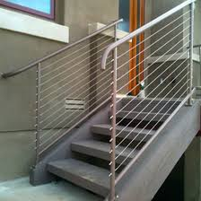 China Modern Cable Railing Design Stainless Steel Deck Balcony Fence China Building Material Construction Material