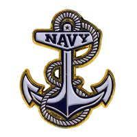 U S Naval Academy Store Navy Anchor 3d Car Emblem Naval Academy Naval Color Wars