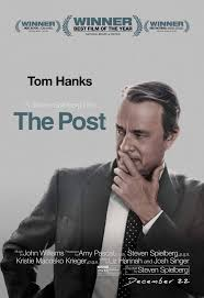 The Post movie posters and trailer - Fonts In Use