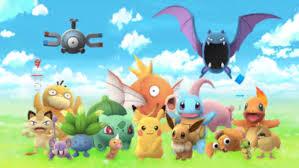 the first Pokémons
