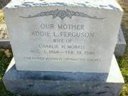 Addie Lee Morris (Ferguson) (1868 - 1946) - Genealogy