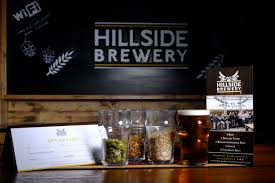 tour gift voucher hillside brewery