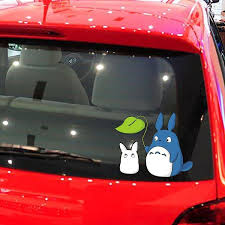 2020 High Quality Funny 19 15cm My Neighbor Totoro Car Stickers For Car Door Body And Motorcycle Accessories Animals Vinyl Decals From Zwell Co Ltd 15 28 Dhgate Com