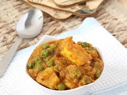 aloo matar paneer recipe with yummy