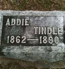 Addie Wells Tindle (1862-1890) - Find A Grave Memorial