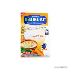 Bột Ngũ Cốc Ridialac-Anpha Thịt Heo Cà Rốt 200Gr