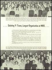Moline High School - M Yearbook (Moline, IL), Class of 1955, Page 92 of 196