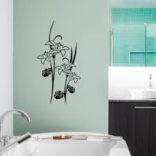 Lilies Plant Wall Decal Style And Apply