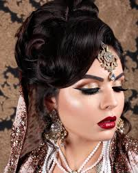 indian bridal hair makeup and mehndi