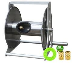 stainless steel wall mounted reel cart
