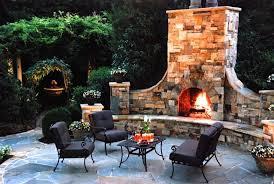 five fabulous outdoor fireplace ideas