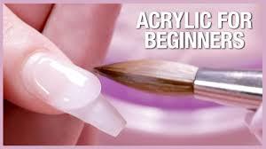 acrylic nail tutorial how to apply