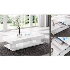 storm storage coffee table in white and