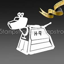 3 Inch K9 Doctor Who Dog Decal Sticker Vinyl Die Cut K 9 K 9 Tardis 206 Ebay