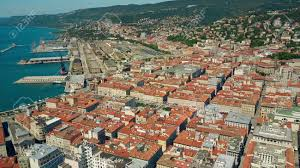 Aerial View Of The Porto Vecchio Or Port Of Trieste City And.. Stock Photo,  Picture And Royalty Free Image. Image 83741065.