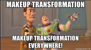 makeup transformation everywhere