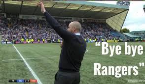 Image result for bye bye rangers steve clarke