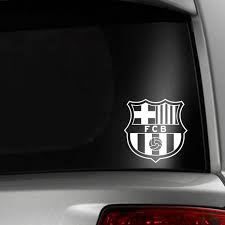 Barcelona Soccer Fc Car Window Decal Etsy