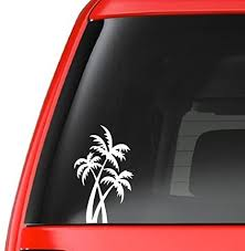 Amazon Com Customdecal Us Palm Tree T5 Vinyl Decal Sticker Car Truck Laptop Netbook Window Automotive