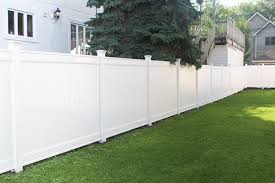 Our New White Vinyl Fence Before After The Diy Playbook