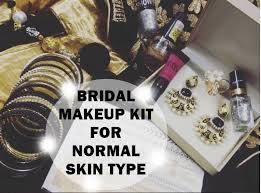 bridal makeup kit for normal skin type