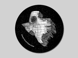 Texas Death Star Sticker 506 Clothing Online Store Powered By Storenvy