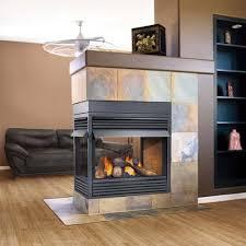 sided peninsula 4 sided gas fireplace