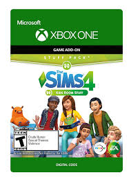 Amazon Com The Sims 4 Kids Room Stuff Xbox One Digital Code Video Games