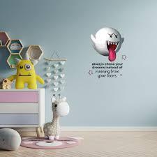 Design With Vinyl Super Mario Ghost Your Dreams Vinyl Wall Decal Wayfair