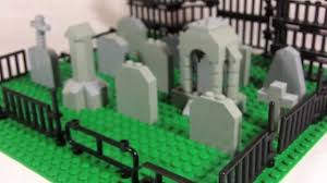 How To Build Lego Graveyard Youtube