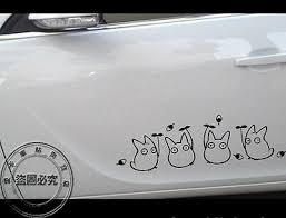 My Neighbor Totoro Car Door Sticker Vinyl Decal Hot Anime Cartoon 40cm Ebay