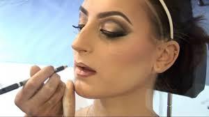 indian arabic bollywood bridal makeup