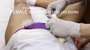 brazilian waxing hair
