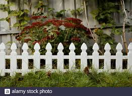 Fence Garden Plastic High Resolution Stock Photography And Images Alamy