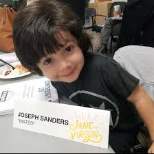 "In Momentum Management - Look at that face!!! My little cousin"" Mateo"" Joseph  Sanders at the Table Read for Jane the Virgin! 