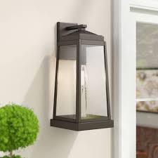 Outdoor Wall Lights Sconces You Ll Love In 2020 Wayfair