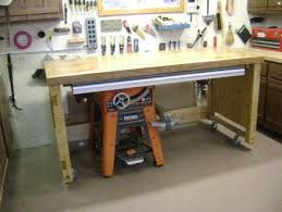 Outfeed Table Solution Table Saw Extension Ridgid Table Saw Table Saw