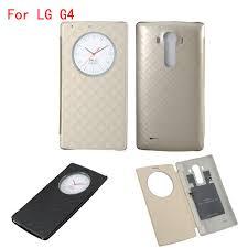 lg g4 quick smart circle case luxury