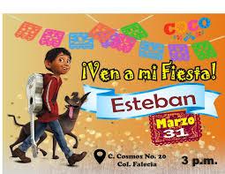 Invitacion Editable Fistas Infantiles Modelo Coco 49 00 En